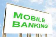 Mobile Banking billboard